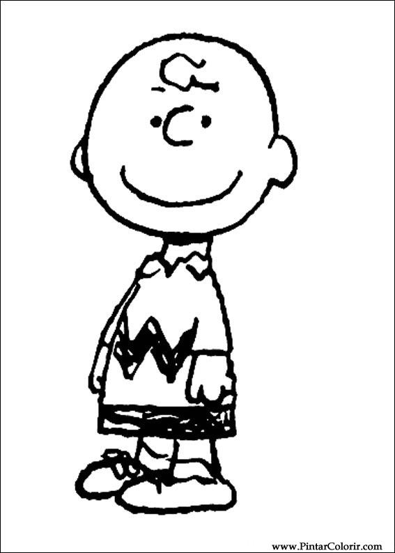 Desenhos Para Pintar E Colorir Snoopy Imprimir Desenho 035