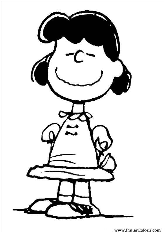 Desenhos Para Pintar E Colorir Snoopy Imprimir Desenho 038