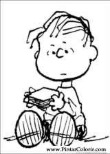 Pintar e Colorir Snoopy - Desenho 004