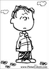 Pintar e Colorir Snoopy - Desenho 007