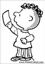 Pintar e Colorir Snoopy - Desenho 008
