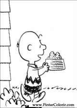 Pintar e Colorir Snoopy - Desenho 026