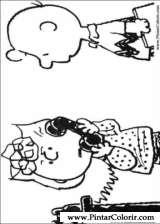Pintar e Colorir Snoopy - Desenho 029