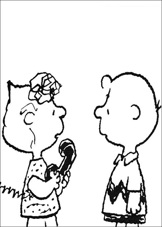 Pintar e Colorir Snoopy - Desenho 033