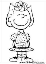 Pintar e Colorir Snoopy - Desenho 041