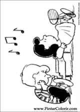 Pintar e Colorir Snoopy - Desenho 042