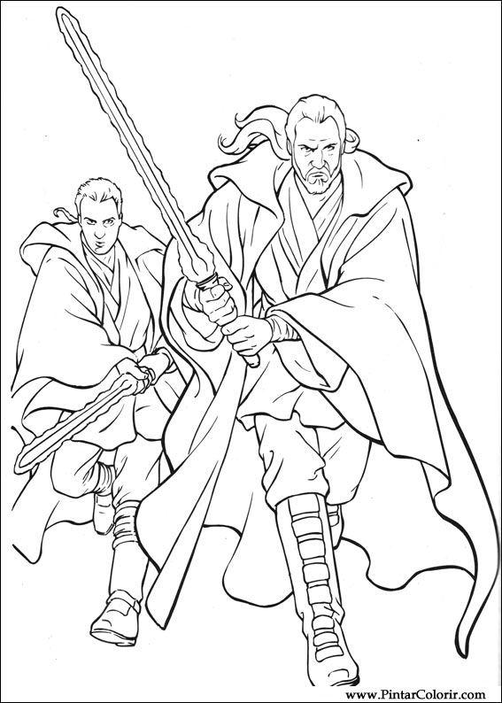 Dessins De Peindre Et Couleur Star Wars Imprimer Conception 063