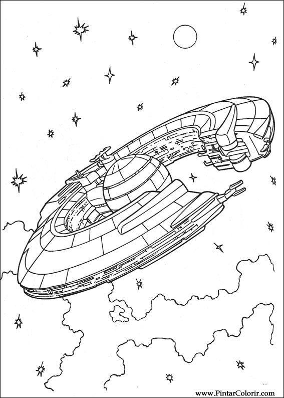 Disegni Per Dipingere Colour Star Wars Stampare Realizzazione 111