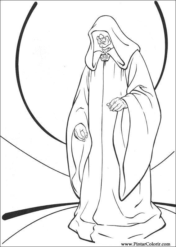 Pintar e Colorir Star Wars - Desenho 114