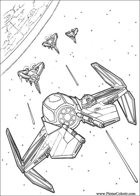 çizimler Boya Ve Renk Star Wars Için Baskı Tasarım 139