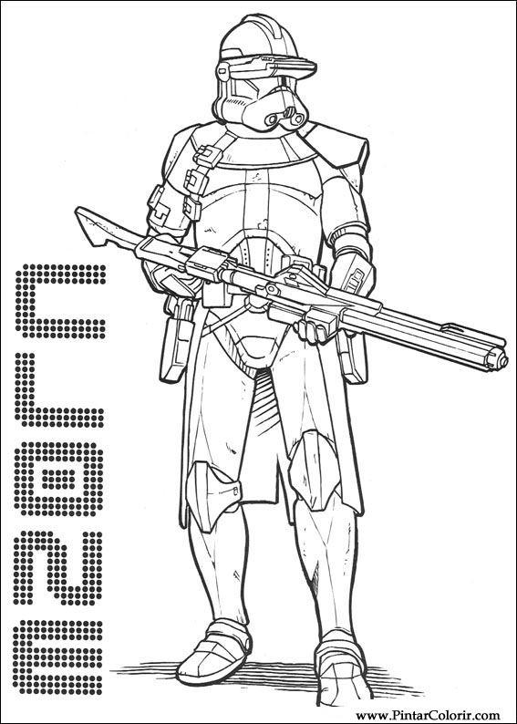 çizimler Boya Ve Renk Star Wars Için Baskı Tasarım 141