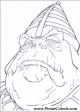 Pintar e Colorir Star Wars - Desenho 009