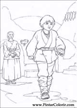Pintar e Colorir Star Wars - Desenho 014