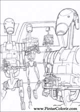 Pintar e Colorir Star Wars - Desenho 016