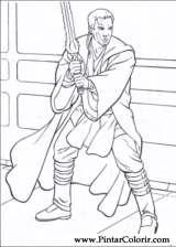 Pintar e Colorir Star Wars - Desenho 018
