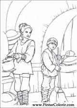 Pintar e Colorir Star Wars - Desenho 019
