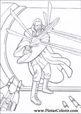 Pintar e Colorir Star Wars - Desenho 021