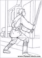 Pintar e Colorir Star Wars - Desenho 026