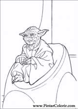 Pintar e Colorir Star Wars - Desenho 035