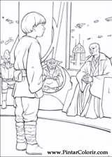 Pintar e Colorir Star Wars - Desenho 036