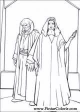 Pintar e Colorir Star Wars - Desenho 038