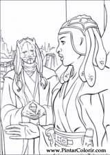 Pintar e Colorir Star Wars - Desenho 039