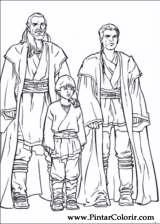 Pintar e Colorir Star Wars - Desenho 043