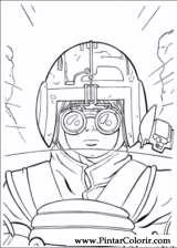 Pintar e Colorir Star Wars - Desenho 044