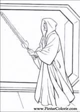 Pintar e Colorir Star Wars - Desenho 049