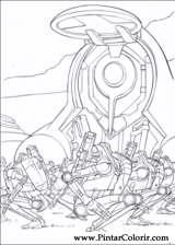 Pintar e Colorir Star Wars - Desenho 053