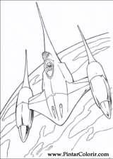 Pintar e Colorir Star Wars - Desenho 060