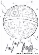 Pintar e Colorir Star Wars - Desenho 081