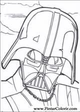 Pintar e Colorir Star Wars - Desenho 101