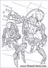 Pintar e Colorir Star Wars - Desenho 106