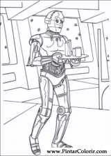 Pintar e Colorir Star Wars - Desenho 109