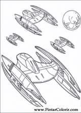Pintar e Colorir Star Wars - Desenho 110