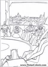 Pintar e Colorir Star Wars - Desenho 125