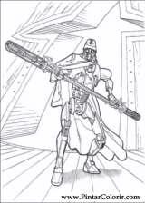 Pintar e Colorir Star Wars - Desenho 138