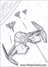 Pintar e Colorir Star Wars - Desenho 139