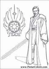Pintar e Colorir Star Wars - Desenho 140