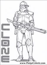 Pintar e Colorir Star Wars - Desenho 141
