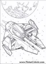 Pintar e Colorir Star Wars - Desenho 143