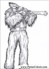 Pintar e Colorir Star Wars - Desenho 145