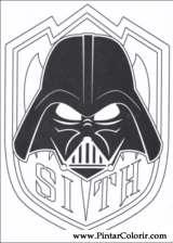 Pintar e Colorir Star Wars - Desenho 146