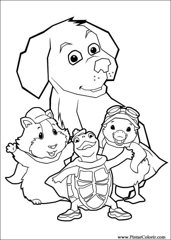 Desenhos Para Pintar E Colorir Super Fofos Imprimir Desenho 002