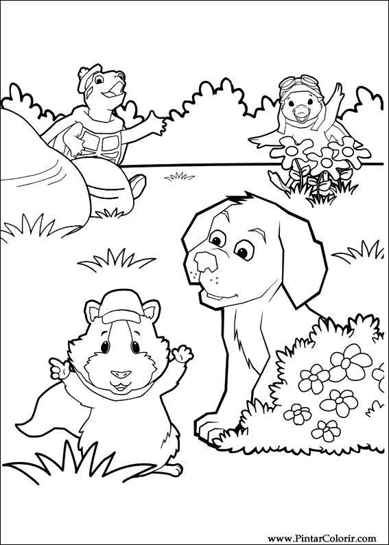 Desenhos Para Pintar E Colorir Super Fofos Imprimir Desenho 006