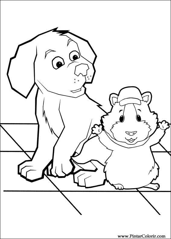 Desenhos Para Pintar E Colorir Super Fofos Imprimir Desenho 009