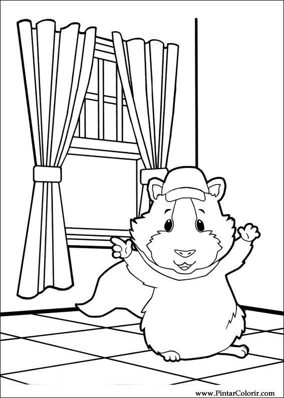Desenhos Para Pintar E Colorir Super Fofos Imprimir Desenho 023