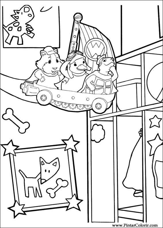Desenhos Para Pintar E Colorir Super Fofos Imprimir Desenho 029