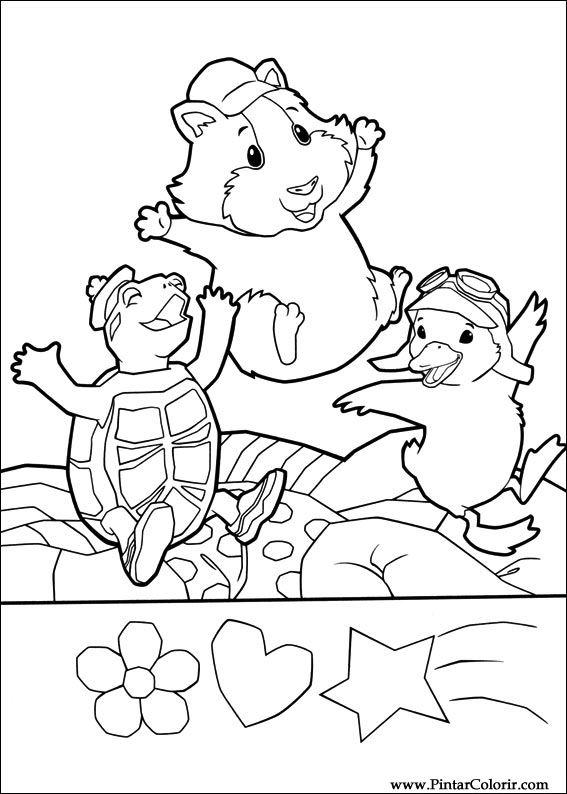 Desenhos Para Pintar E Colorir Super Fofos Imprimir Desenho 033